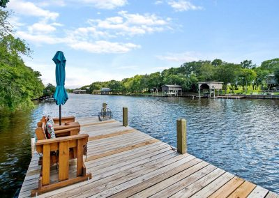 383 County Road 296 - private dock on Caney Creek
