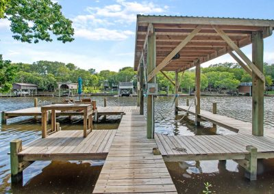 383 County Road 296 - private dock on Caney Creek w boat lift and cleaning station