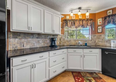 1400 Bayou Drive - Custom kitchen w granite