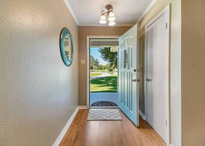 1400 Bayou Drive - Front Entry