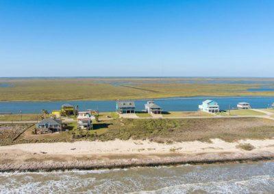 Los Ninos Casa De Playa - Drone view north 1