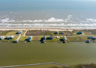 Los Ninos Casa De Playa - drone view south 1