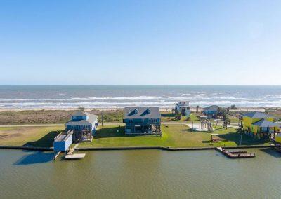 Los Ninos Casa De Playa - drone view south 2
