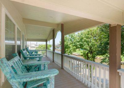 Christal's Castaway - Rear Balcony