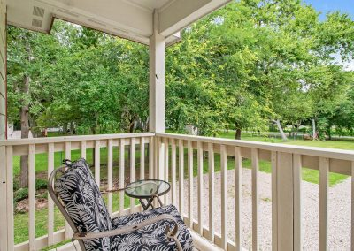 Grandpa's Place on Caney - Rocking Chair on Porch