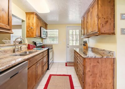 Grandpa's Place on Caney - Updated Galley Kitchen