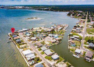 100 Bayshore Drive - Aerial - At the corner of the Ocean