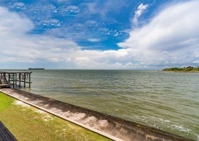 100 Bayshore Drive - Concrete Sea Wall