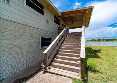 100 Bayshore Drive - Exterior Stairway