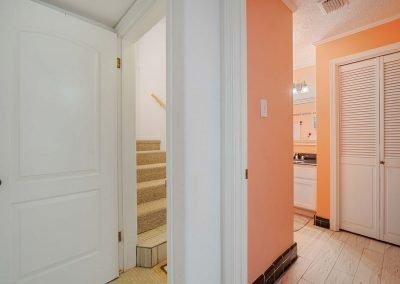 100 Bayshore Drive - Stairwell & Linen Closet
