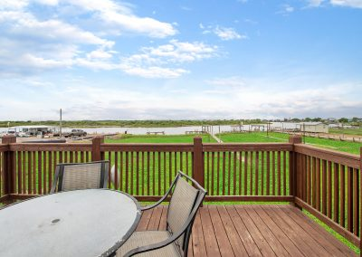 Caney Creek Inlet - Balcony dining