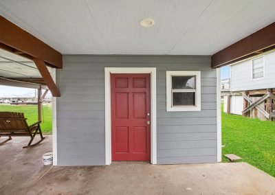 Caney Creek Inlet - Covered Breezeway
