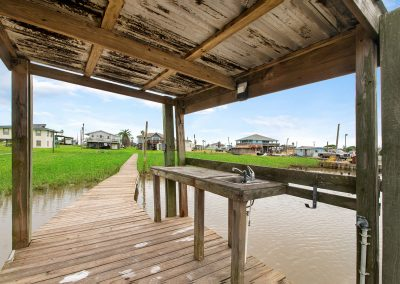 Caney Creek Inlet - Covered Cleaning Station