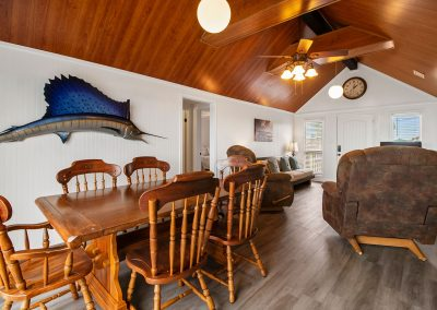 Caney Creek Inlet - Living and Dining