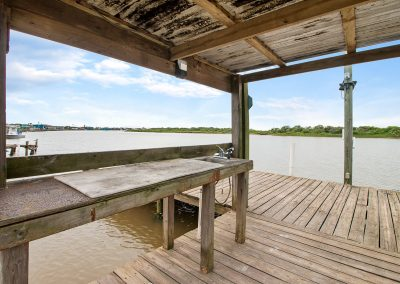 Caney Creek Inlet - Private Fishing Pier