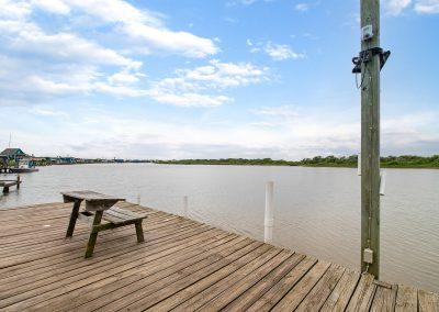 Caney Creek Inlet - Waterside seating