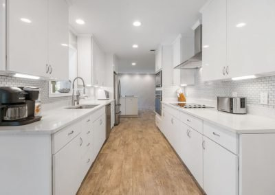Reel Time - Fully Prepped, All-white Kitchen