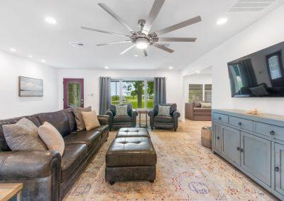 Reel Time - Living Room w Enormous Fan