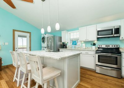 Flippin' Flounder - Stone Counters and Stainless Appliances